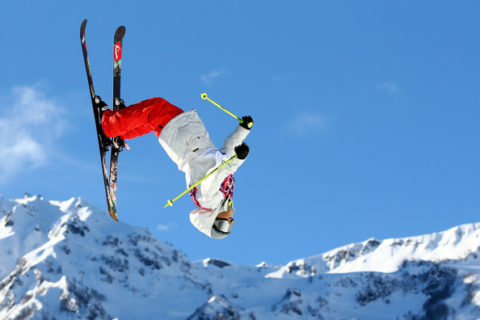 Sports for skiing - gymnastics
