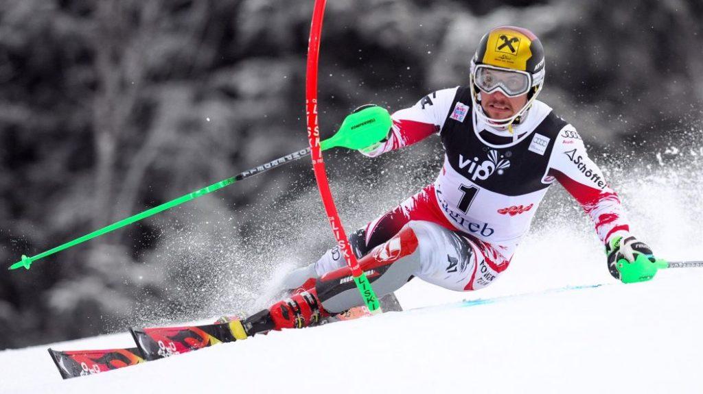 Marcel Hirscher Slalom Turn