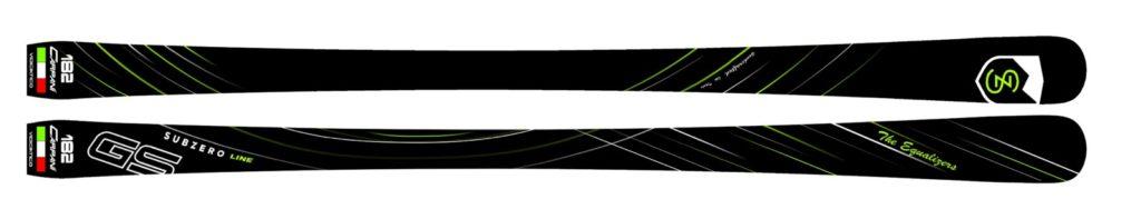 Carpani skis, Subzero Line skis
