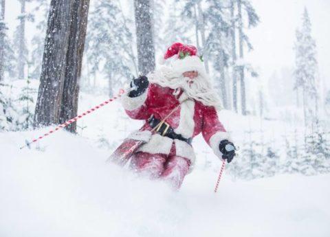 Ski Instructor training Christmas