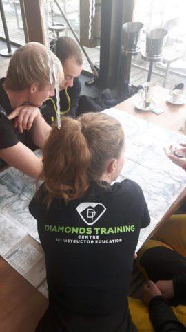 ski instructor mountain safety training