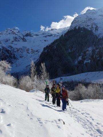 IASI Mountain Safety ISIA ski instructors