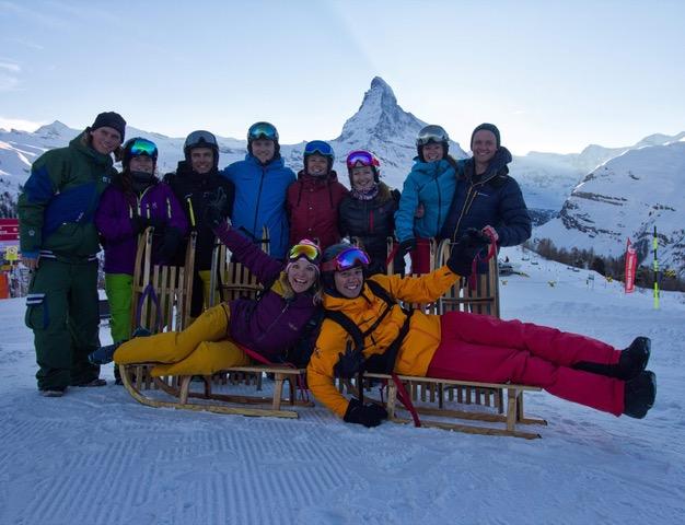 ski training zermatt