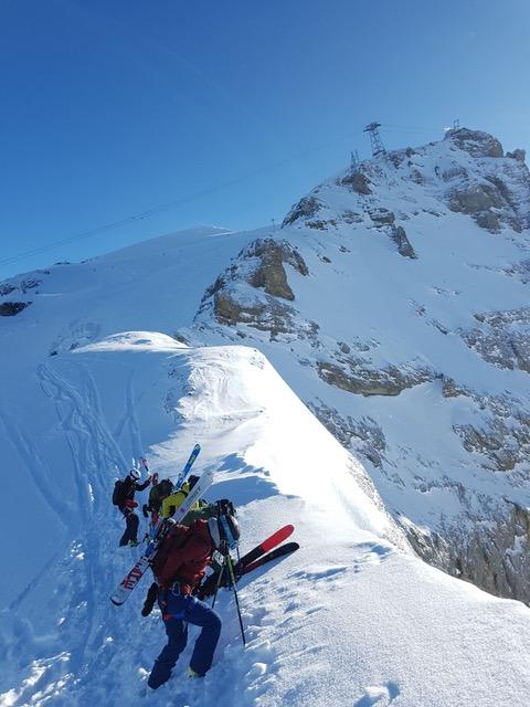 Ski instructor course engelberg