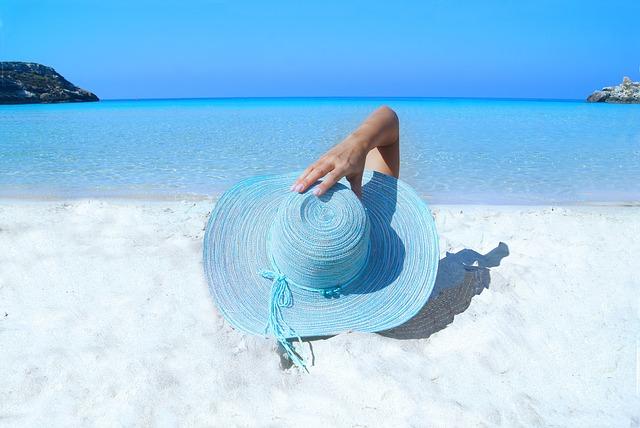 Fitness holiday beach