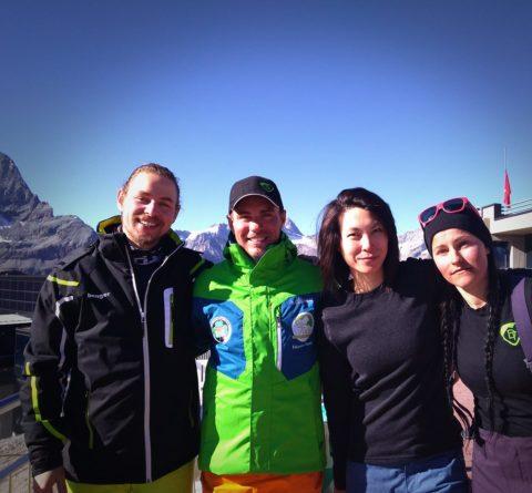 Ski boots, trainee instructors