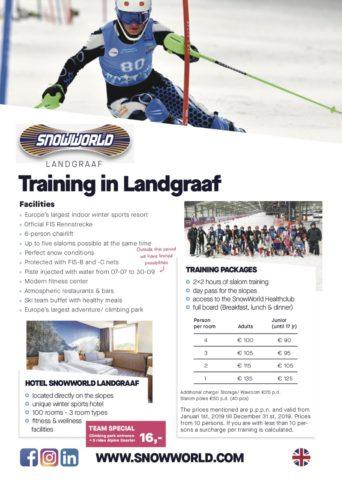 Snow World Prices Race Team