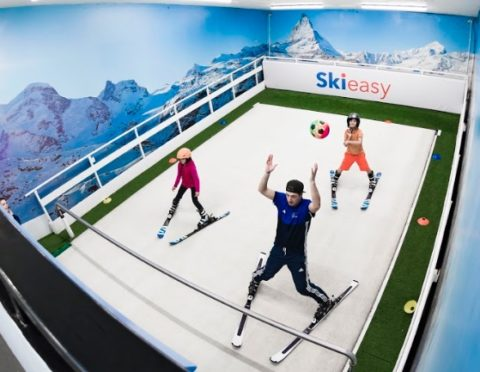 IASI Level 1 Rolling Carpet Ski Instructor Course at Ski Easy dukes meadows