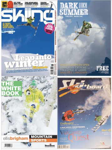 Any Bennett Freeride Magazine