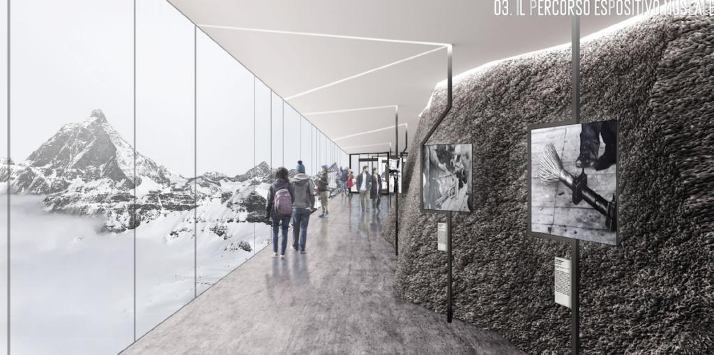 Zermatt new lift, new lift cervinia
